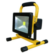 geckolighting LED 10w rechargeable floodlight