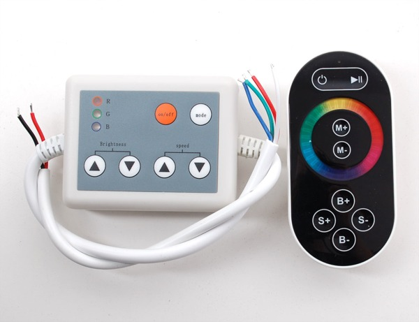 LED touch controller geckolighting